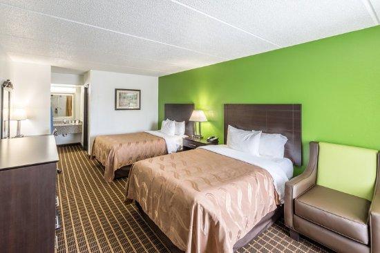 Simpsonville, Carolina del Sur: Double bed room