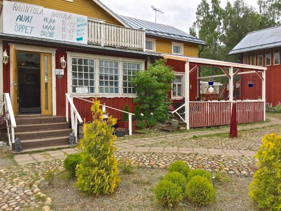 Mustasaari, Finland: Majatalon päätalo