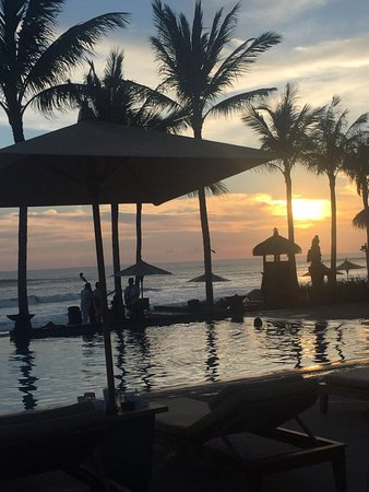 The Legian Bali : Sunsets every day!