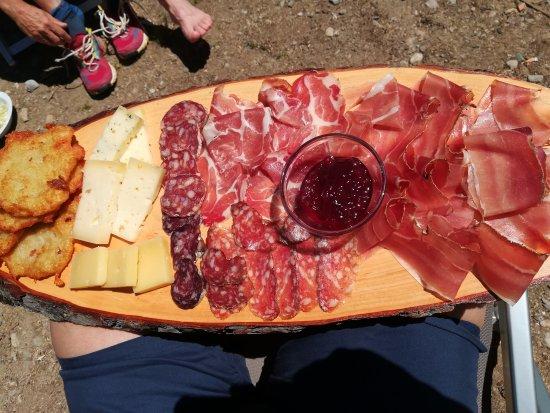 Rabbi, Italien: Tagliere completo