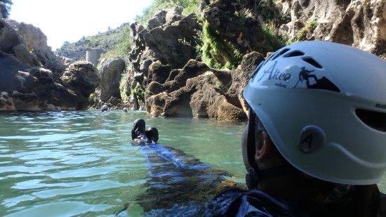 Canyoning de Saint-Guilhem