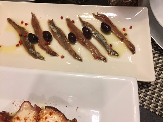 Corbera de Llobregat, Ισπανία: Anchoas cantabrico