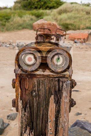 Braunton, UK: Some of the interesting items on the beach seem vaguely familiar :-)