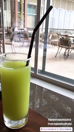 Villa Toscana: Green Apple Juice