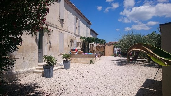 Vallabregues, France: outside view