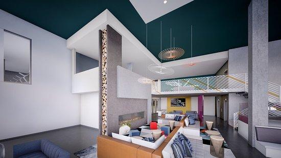 Ρέντμοντ, Ουάσιγκτον: Lounge - Rendering
