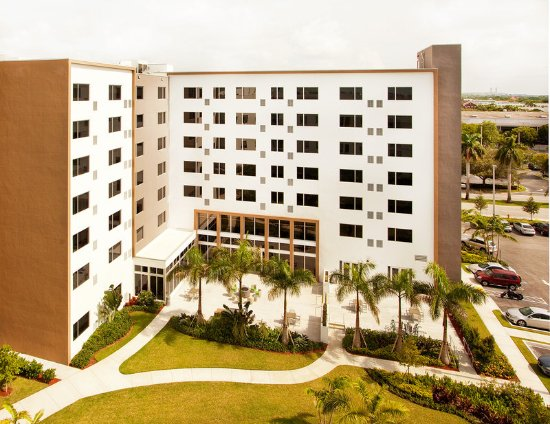 Doral, FL: View of the Element from the Aloft Hotel