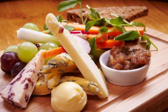 Stone House Hotel Restaurant: Light lunch platters