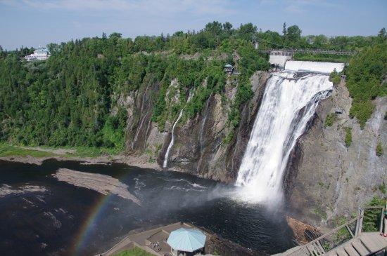 Saint-Mathieu-du-Parc, Kanada: Point de vue facilement accessible