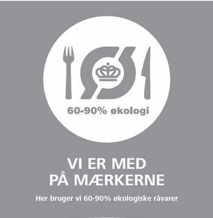 Stege, Dania: Cafe V'sit is ORGANIC CERTIFIED and are VERY proud of it :-)