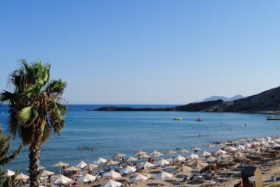 Paradise beach vista dal ristorante bild fr n paradise for Kos milano ristorante
