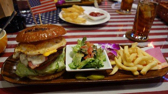 Showa-cho, Japonia: ハンバーガー