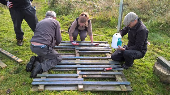 Greenock, UK: Weekly Conservation Volunteer group on a Saturday 10.30am - 2.30pm.