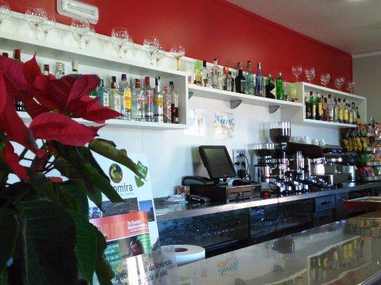 Navajas, Spain: Cafetería