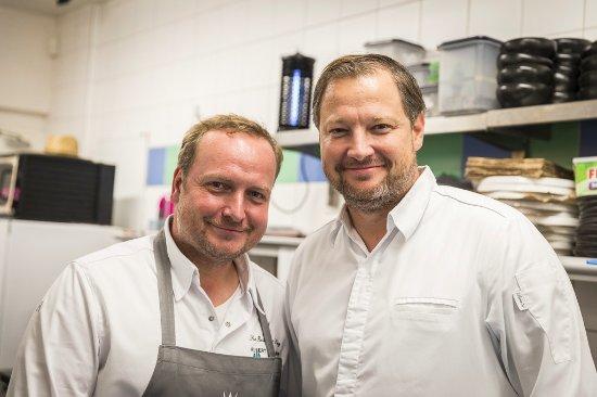 Techelsberg, Østerrike: Freunde zu Gast im See Restaurant Saag - Gaststarkoch Andy Döllerer