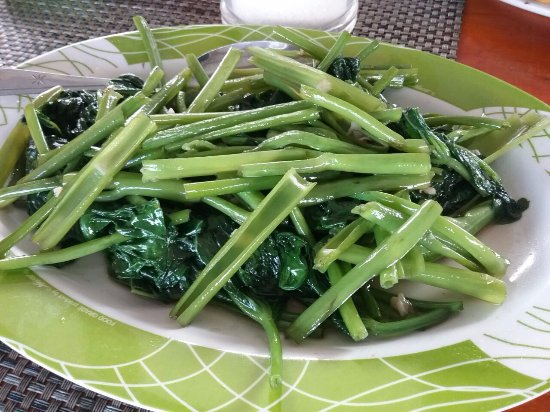 Tondano, Indonesia: water spinach