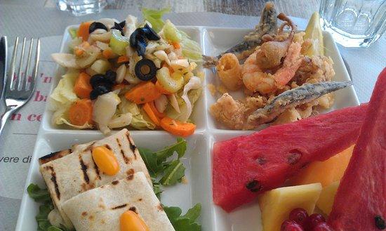 Restaurant Il Cartoccio: Menù pranzo a 12€