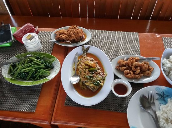 Tondano, Indonesia: lunch