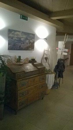 Castello-Molina di Fiemme, Италия: Hall