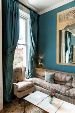 Evershot, UK: Drawing Room