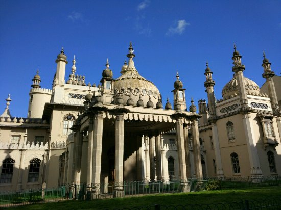 Royal Pavilion: We got lucky with the weather