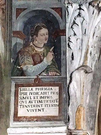 Morcote, Chiesa di santa Maria del sasso: affresco di G. B. Tarilli (fine Cinquecento)arilli
