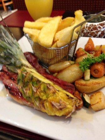 Troon, UK: Gammon Steak Amazing