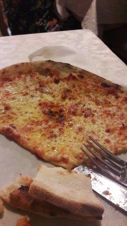 my pizza at Terrazza Angelo - Picture of Ristorante Pizzeria ...