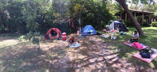 Primeira Cruz, MA: Camping