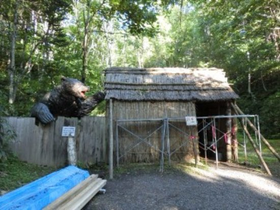 Tomamae-cho, ญี่ปุ่น: 開拓小屋とヒグマ