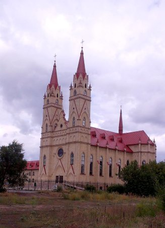 Cathedral of the Blessed Virgin Mary of Fatima, Karaganda ...