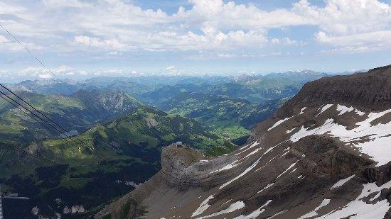 Les Diablerets, Ελβετία: Montée