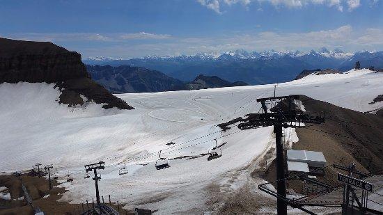 Les Diablerets, İsviçre: Glacier