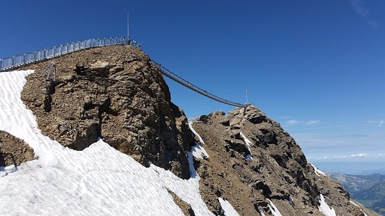 Les Diablerets, Switzerland: Peak walk