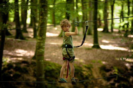 Parc des Grands Chenes: Parcours Enfant aux Parc des Grands Chênes Forêt de Villecartier