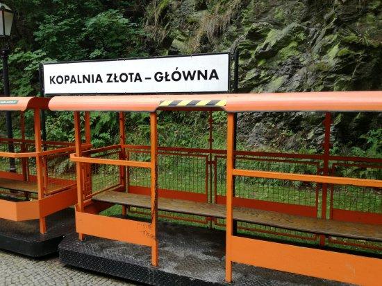 Złoty Stok, Polska: Kolejka