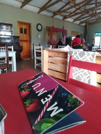George, Sør-Afrika: Inside the Coffee shop
