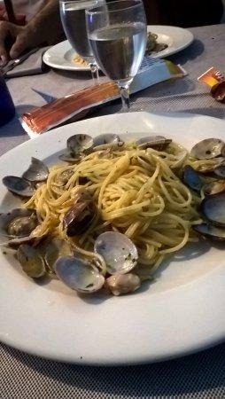Pontecurone, Italië: Spaghetti alle vongole