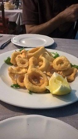 Pontecurone, Italië: Fritto di calamari