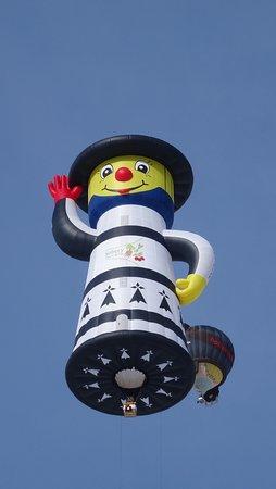 Chateau-d'Oex, Zwitserland:  Ballon Festival, Chateau d'Oex