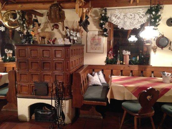 Cute Austrian Style House Restaurant Landhaus Stuberl Bad