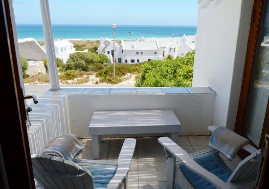 Paternoster, جنوب أفريقيا: B2 Overnighter balcony sea view