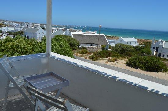 Paternoster, جنوب أفريقيا: Self Cater bedroom balcony sea view
