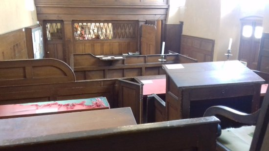 Walsingham, UK: The Courtroom