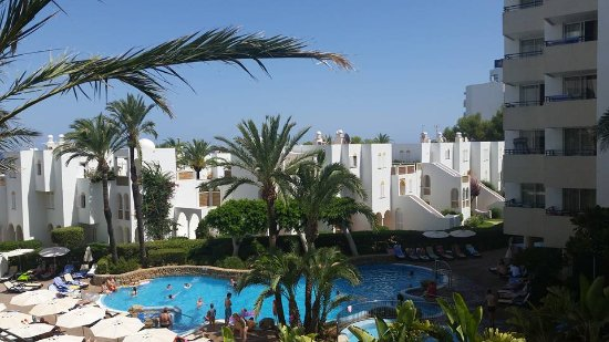 Hipotels Bahia Grande: view from the private sun terrace
