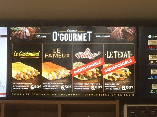 Otacos Carte 2019.O Tacos Bruxelles Restaurant Avis Photos Tripadvisor