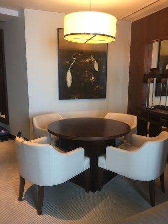Deluxe suite dining table