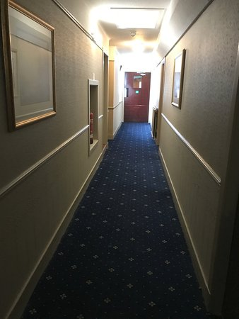 Scotland's Hotel & Spa: a maze to get in the room