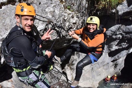 Matten bei Interlaken, Switzerland: Canyoning Grimsel