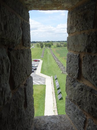 Sharpsburg, MD: Sunken Road from the Tower